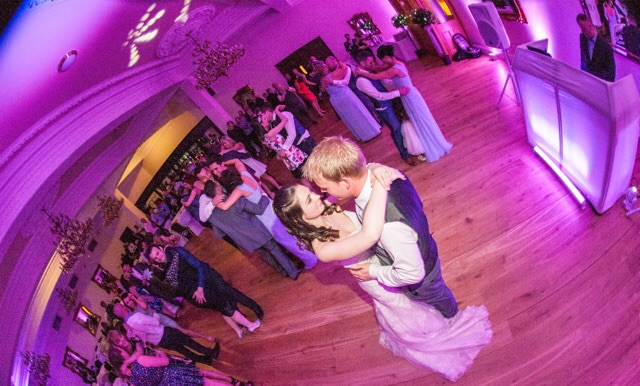 First dance at Doxford Hall