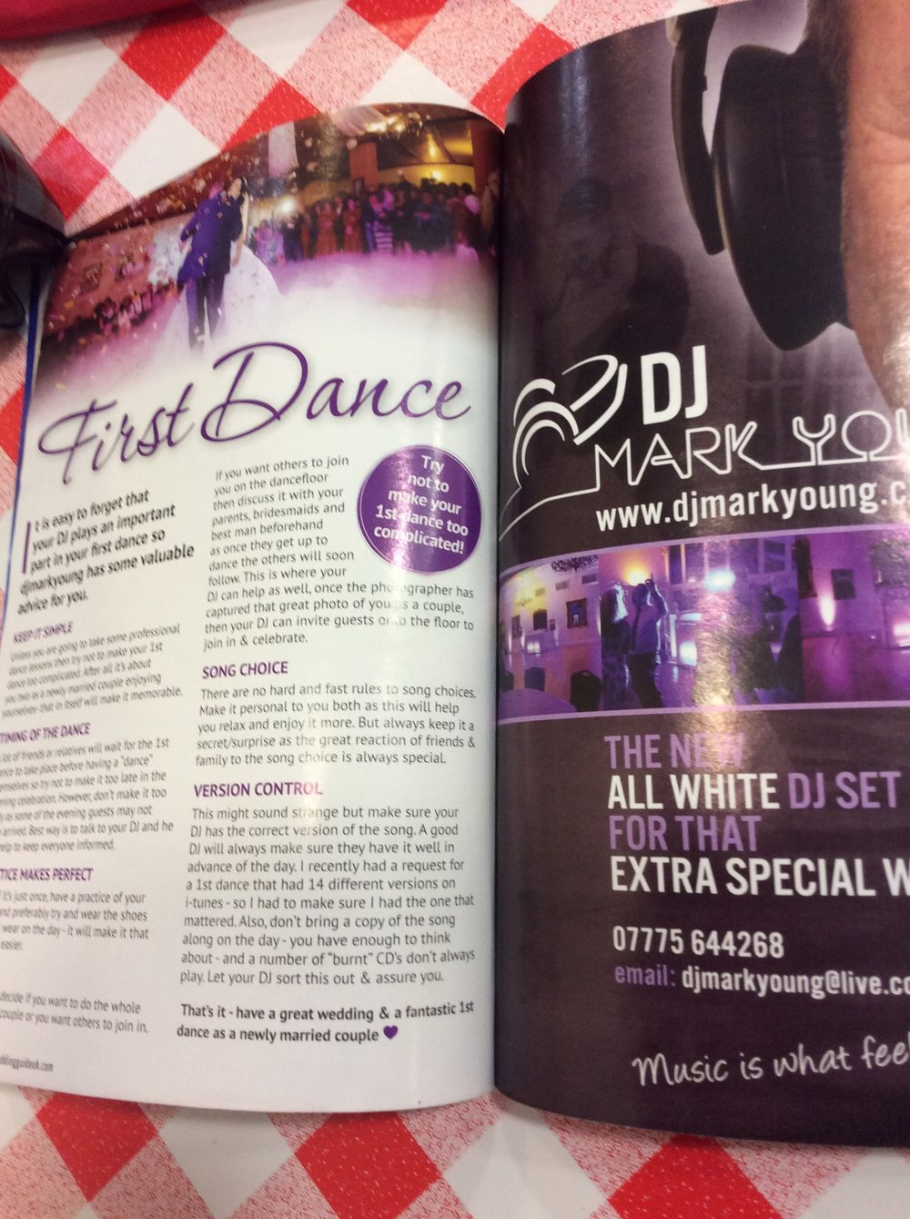 First Dance Article