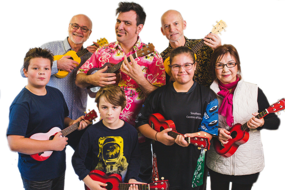 All you need is love: Ukulele picnic