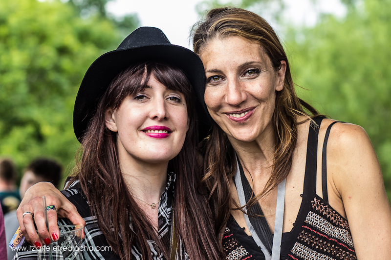 "#knockanstockan 2015 ""The portraits"" with Sinead White and Cristina del Moral"