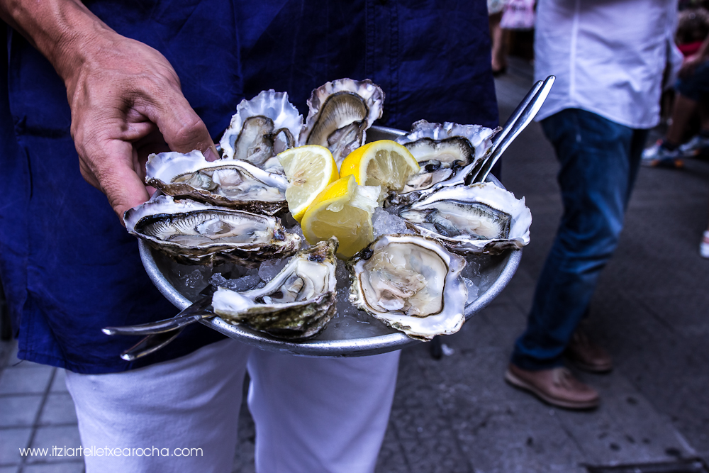 El Puertito Oyster Bar. Drinks and Oysters. Bilbao