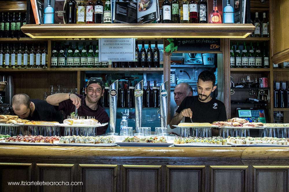 Zuga, Drinks and avant-garde turned cuisine. Bilbao