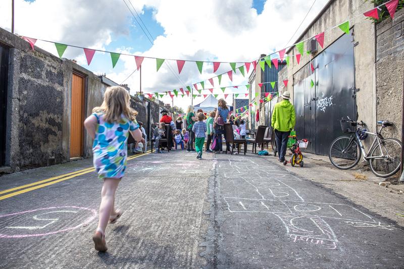 Street Feast at Lucky Lane, Dublin 2016