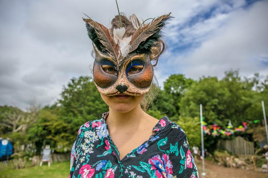 Stina Katrina in Knockanstockan Music Festival, Ballyknockan, Ireland 2016.