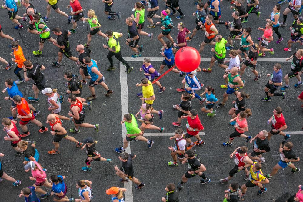 Dublin Marathon, Stoneybatter, Dublin October 2016