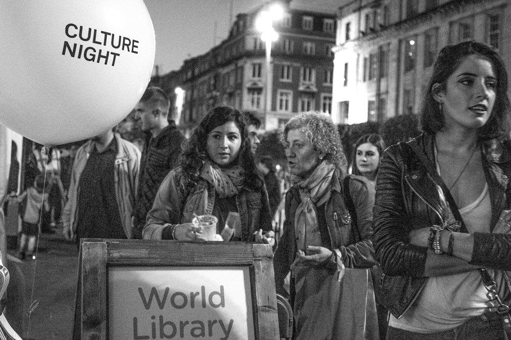 Culture Night, O'Connel Street, Dublin 2015