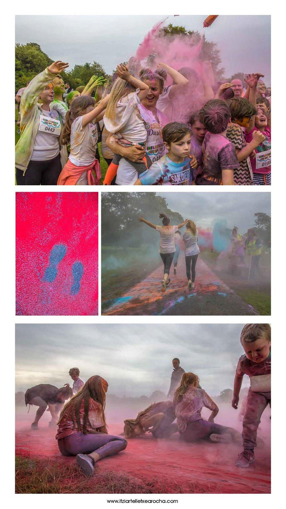 Colour Run Donabate 2017
