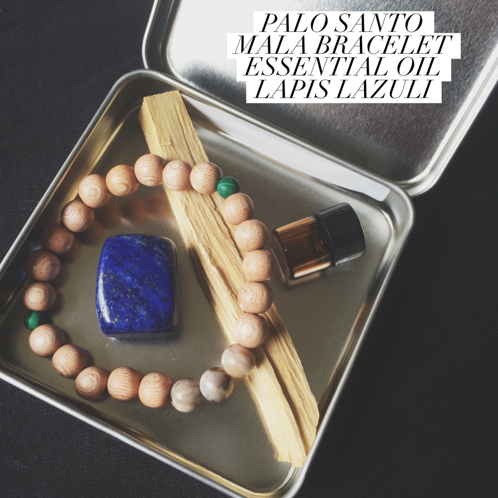 The Altar Tin. {bracelet colors will vary}