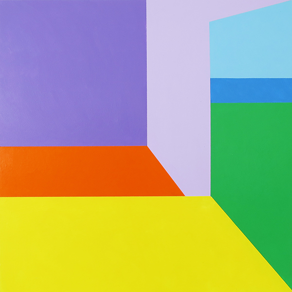 Scene 71   Acrylic on canvas 6 x 6 feet $9500 [SALE price $4250]