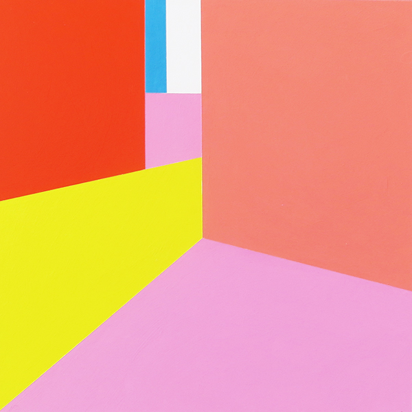 Scene 72   Acrylic on canvas 6 x 6 feet $9500 [SALE price $4250]