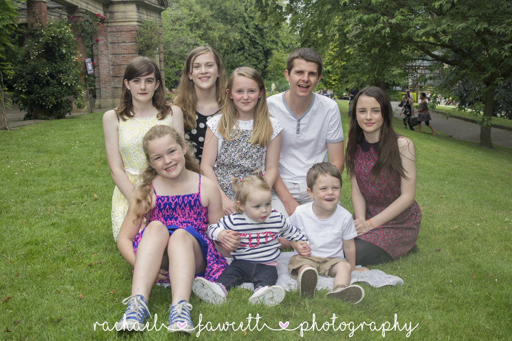 Bland Family Portrait