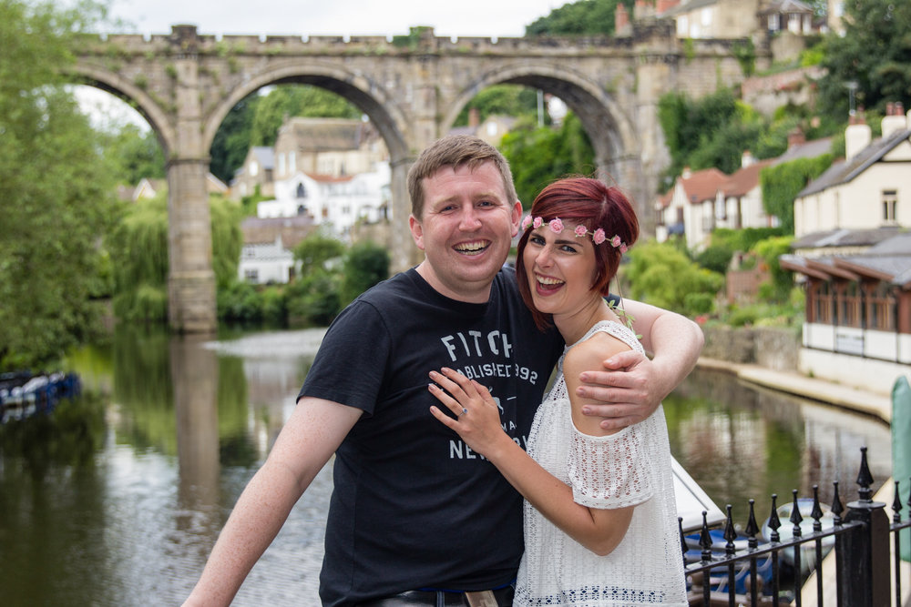 Knaresborough Engagement Photo Shoot