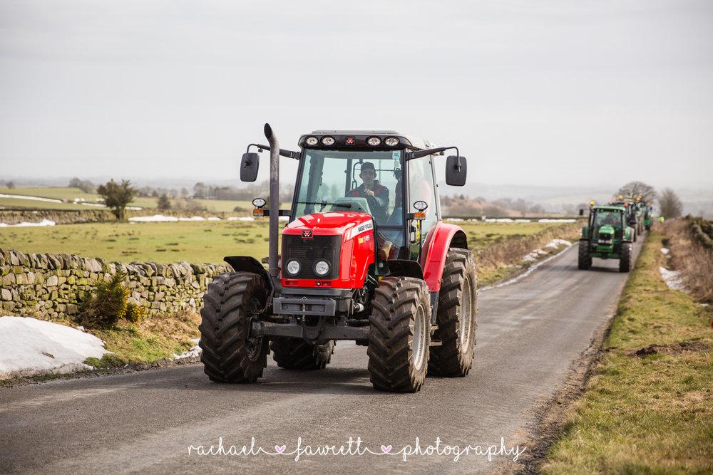 Tractor Run 254