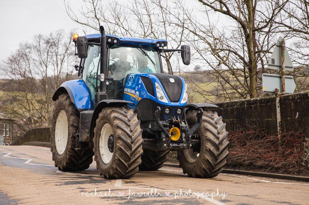 Tractor Run 406