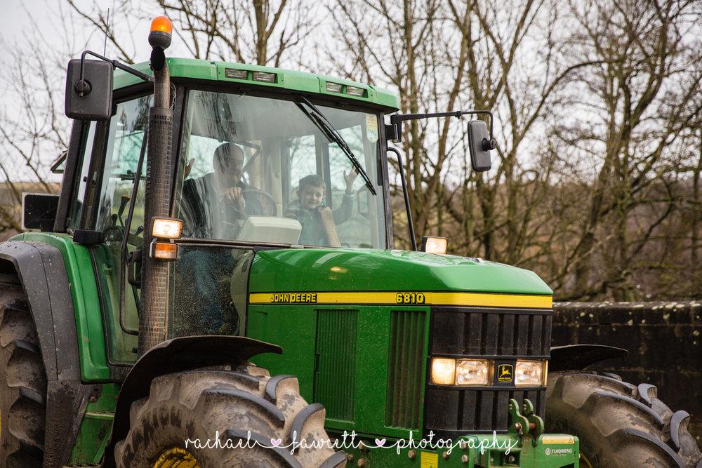 Tractor Run 408