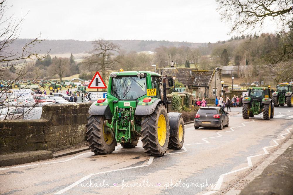 Tractor Run 454
