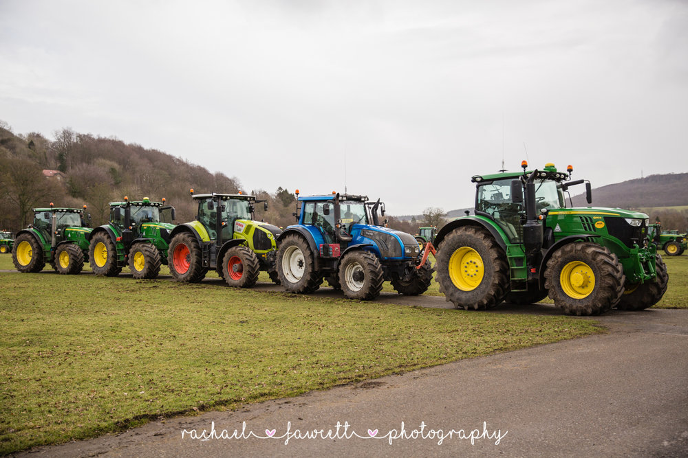 Tractor Run 455