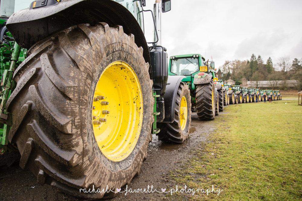 Tractor Run 458