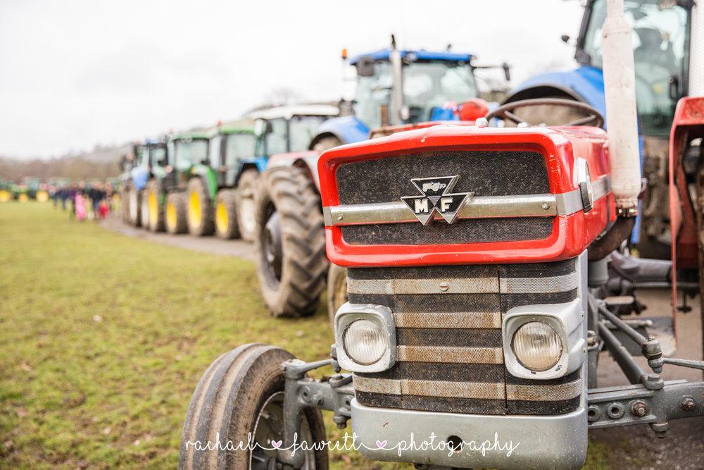 Tractor Run 470