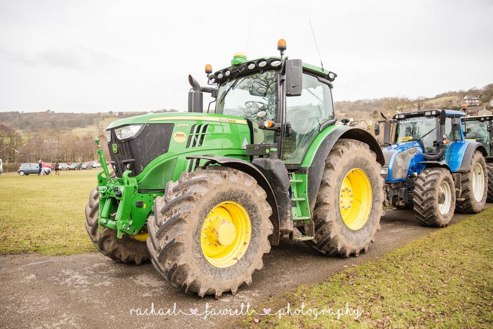 Tractor Run 495