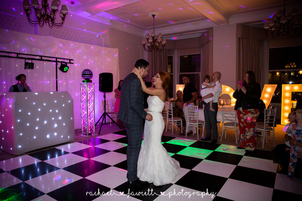St George Hotel Harrogate wedding photographer 74
