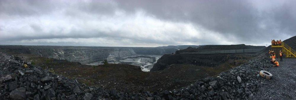 Malartic Gold mine Canada. Photo: Orit Halpern.