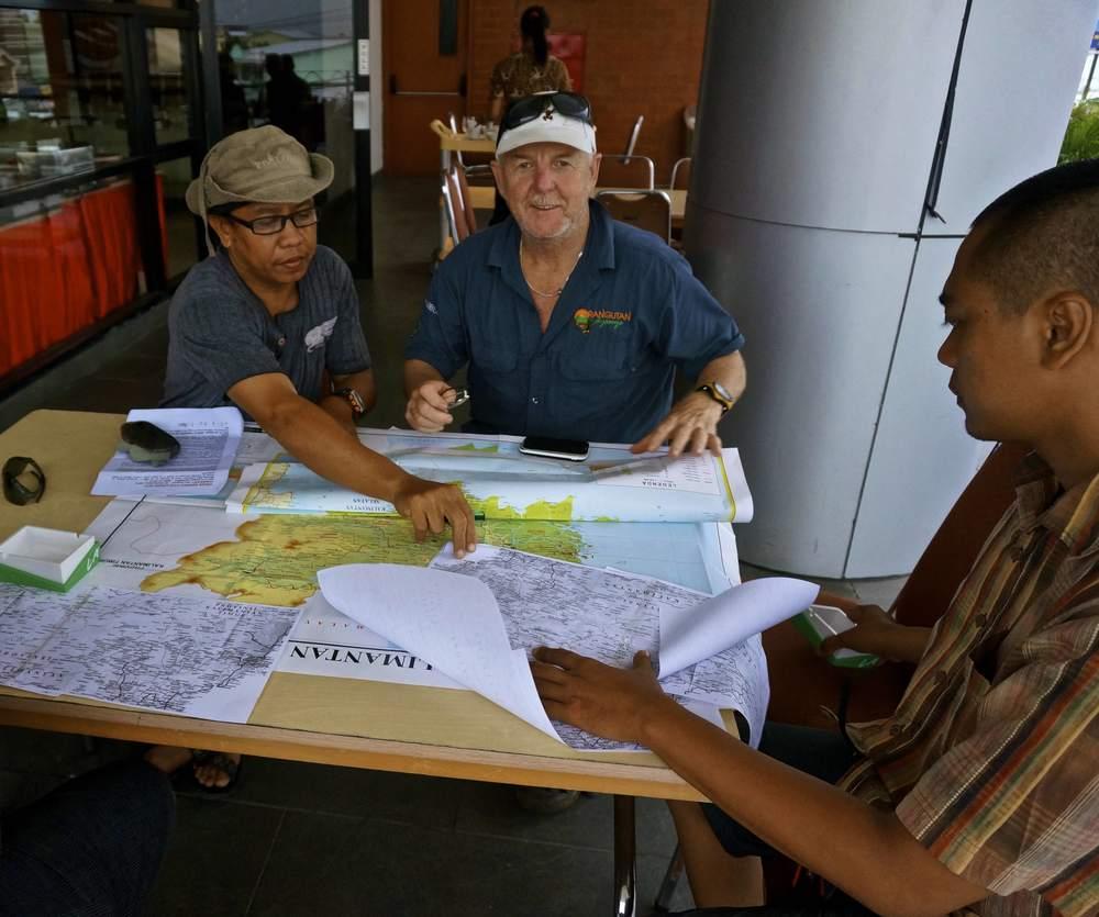 Planering inför expeditionen