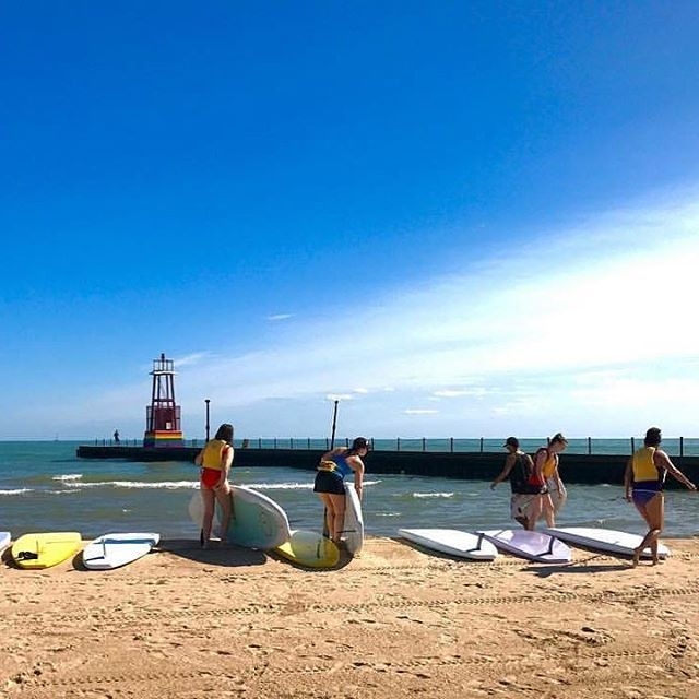 We are open for SUP Rentals this weekend at our Kathy Osterman beach location only. 9 AM to 4 PM both days. Weather looks great! ☀️