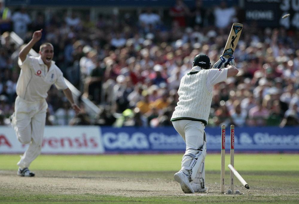 Michael Clarke bowled.jpg