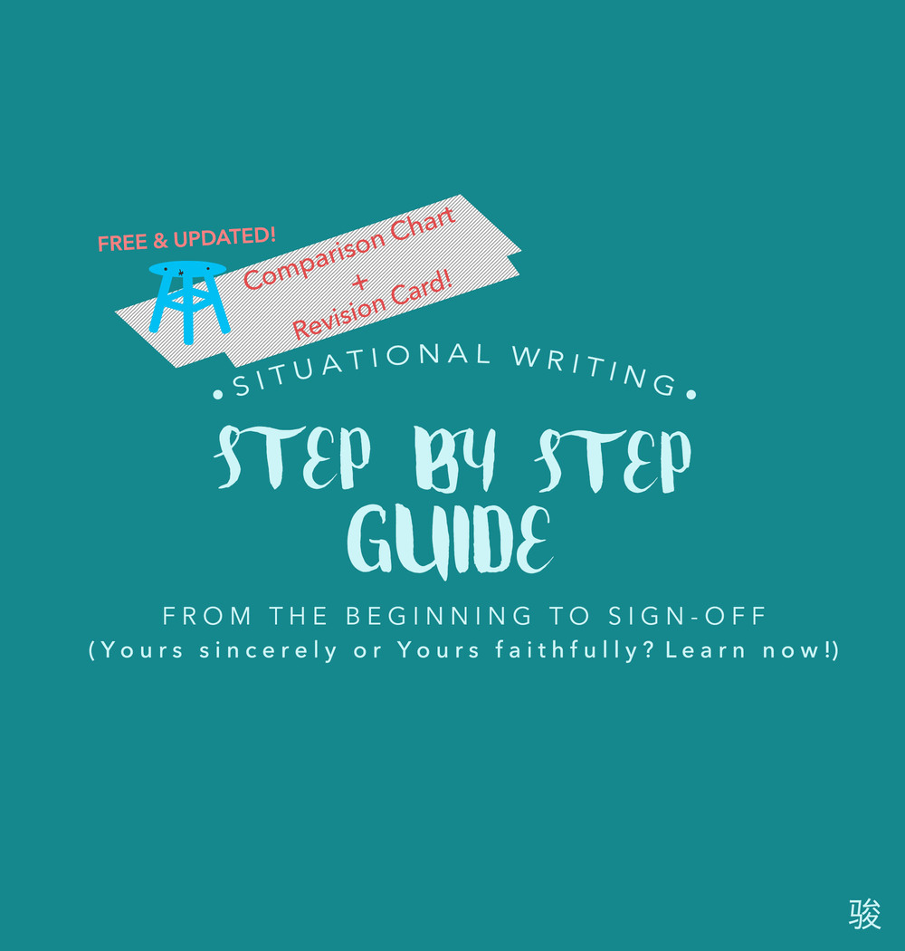 psle english situational writing step by step guide language organisation