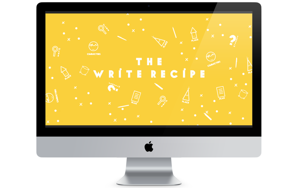 iMAC The Write Recipe Blog Picture