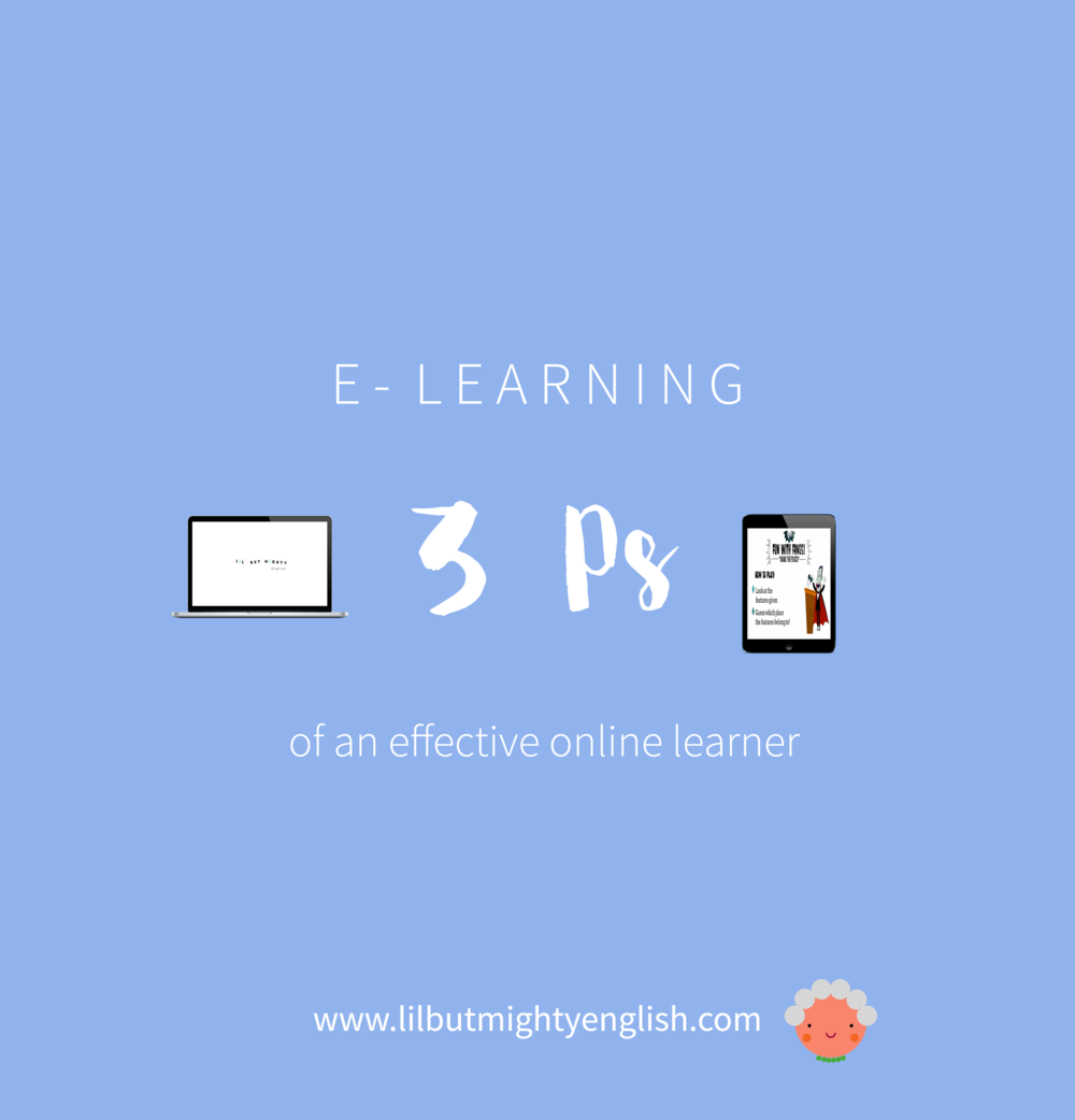 The 3 Ps of an Effective Online Learner