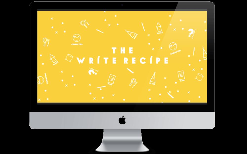 The Write Recipe - Creative Writing Course for Primary School Children