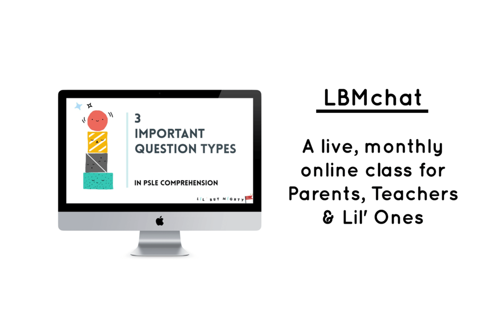 LBMchat: A live, monthly online class for Parents, Teachers & Lil' Ones