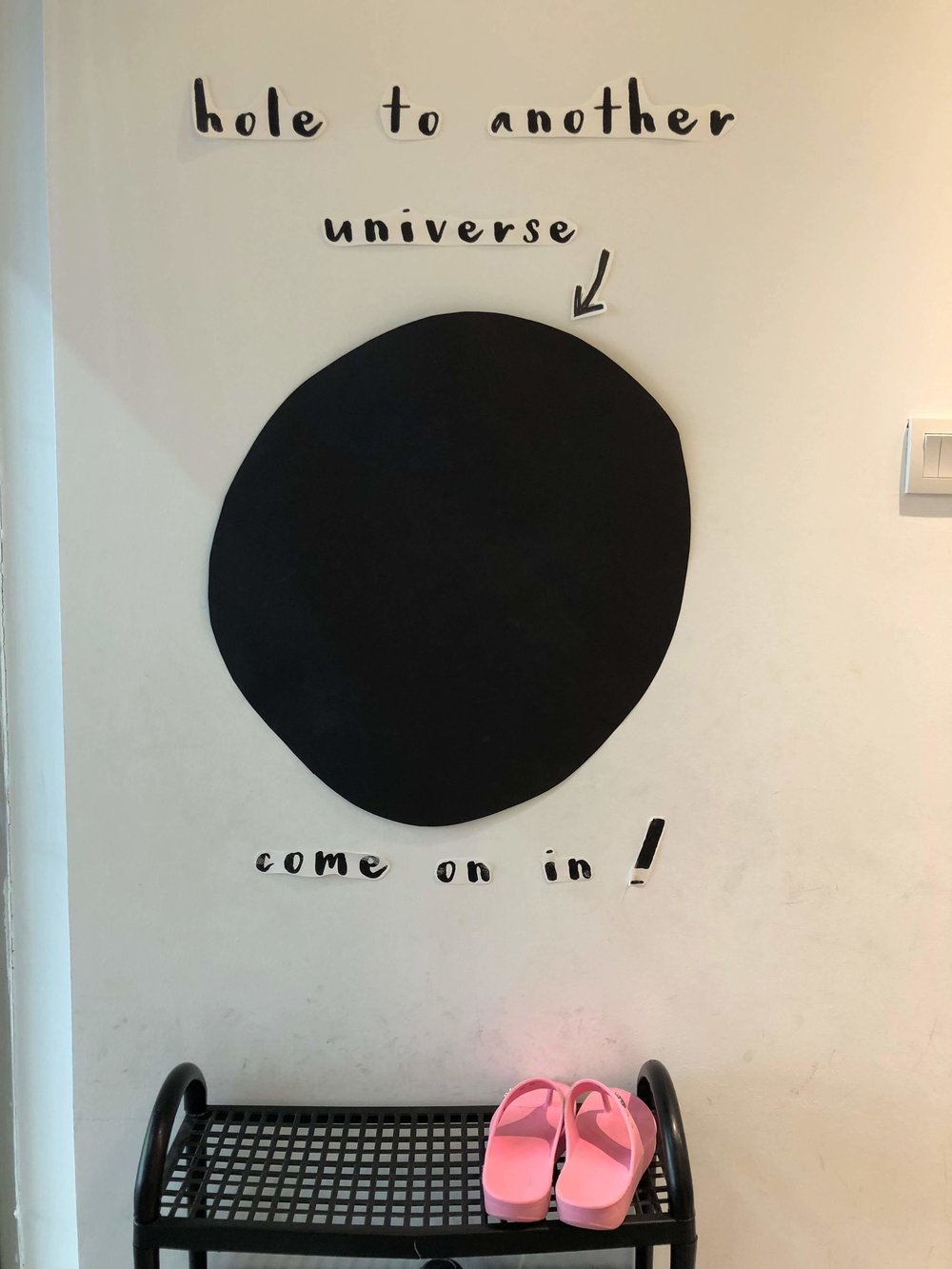 Hole to another universe - Lil' but Mighty Classroom display