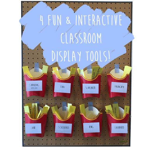 4 Fun & Interactive Classroom Display Tools