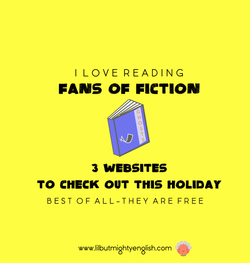 Fans of Fiction: 3 Websites to Check out this Holiday