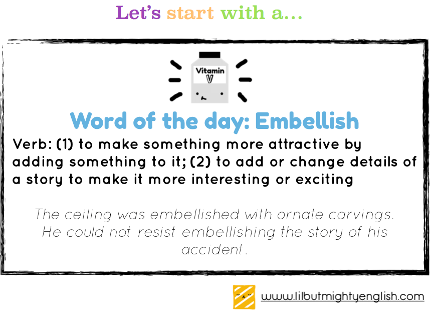 Lil' but Mighty Word of the day!