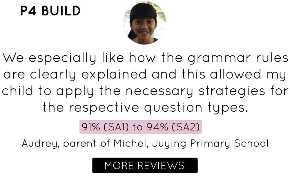 Primary 4 English Tuition | Testimonial Juying