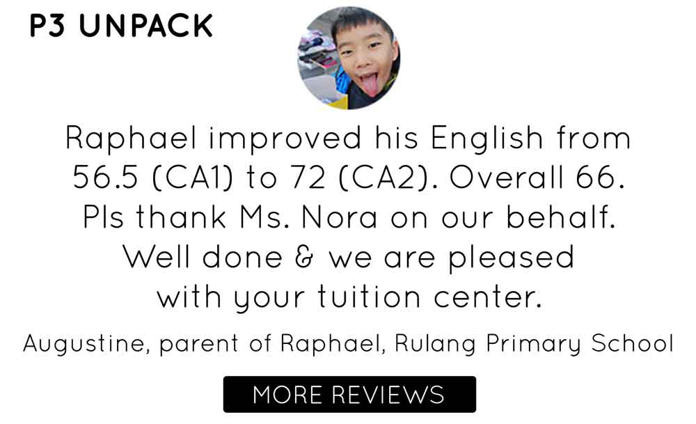 Lil' but Mighty | Primary 3 UNPACK PROGRAMME Testimonial