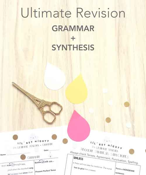 Ultimate Revision Lists | Grammar & Synthesis