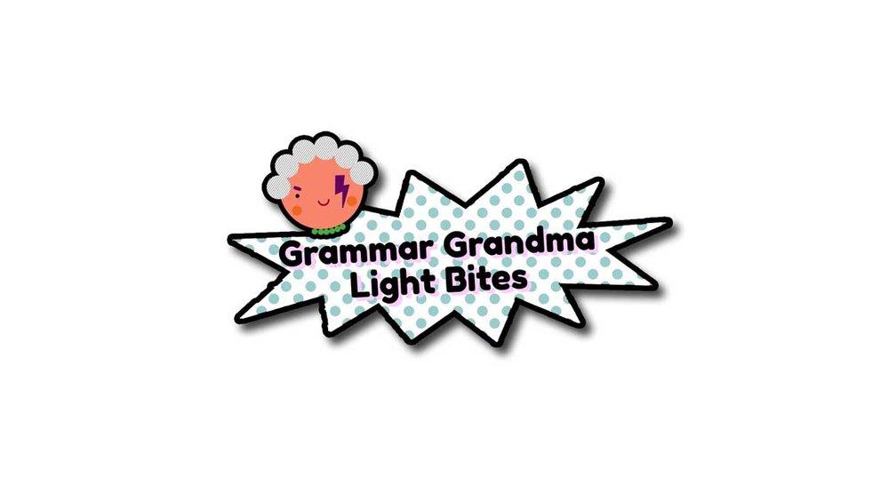 Grammar Grandma Light Bites | Primary English