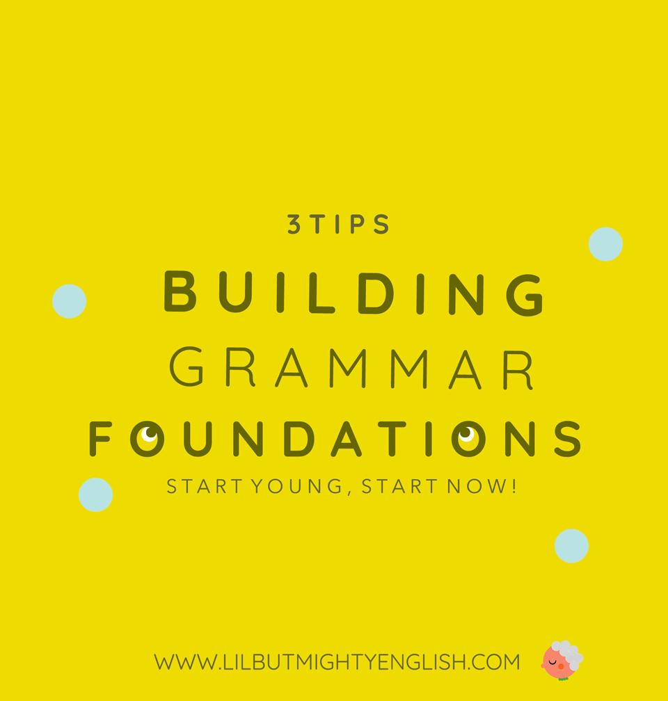 Primary English | Building Grammar Foundations