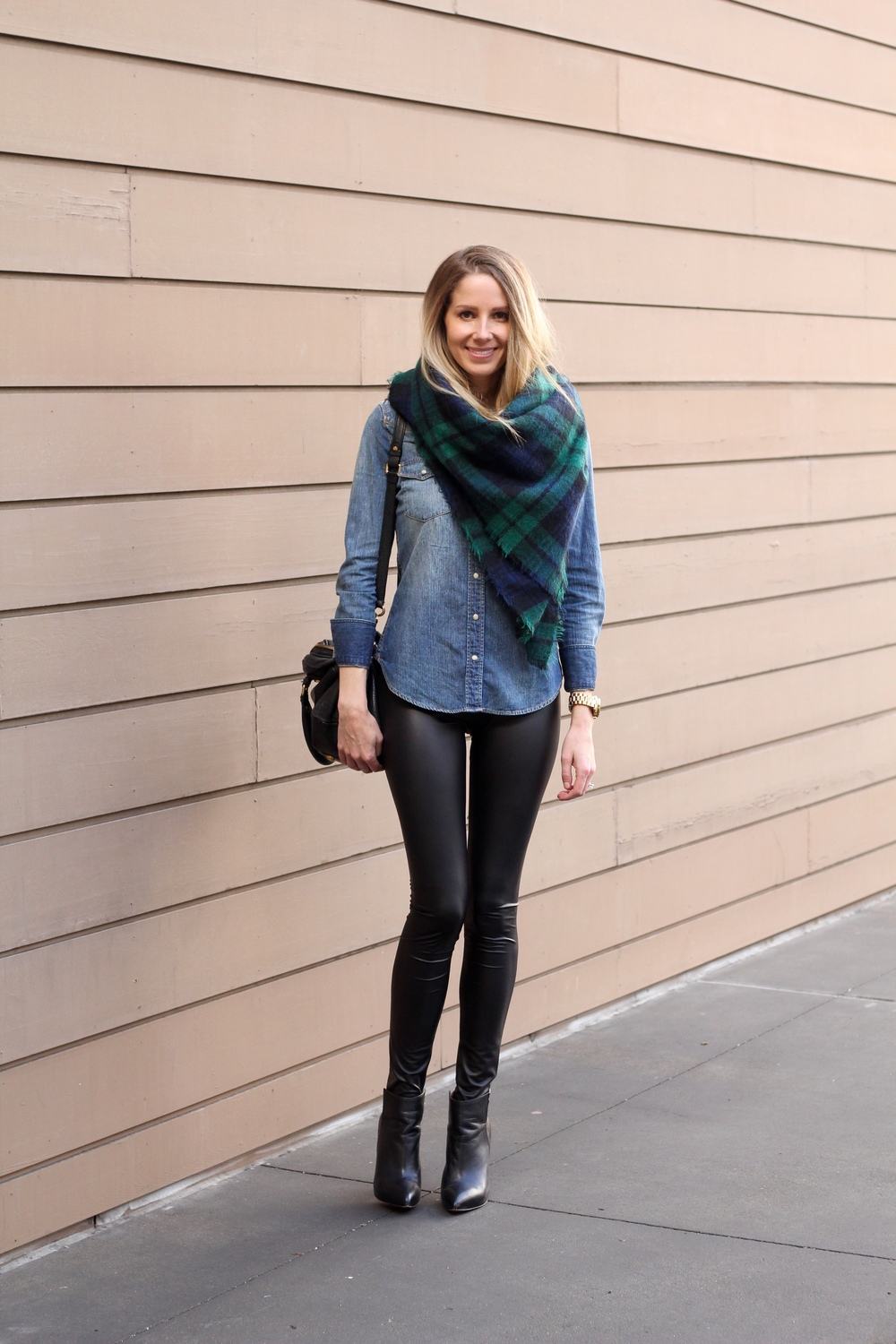gilt edge | blanket scarf