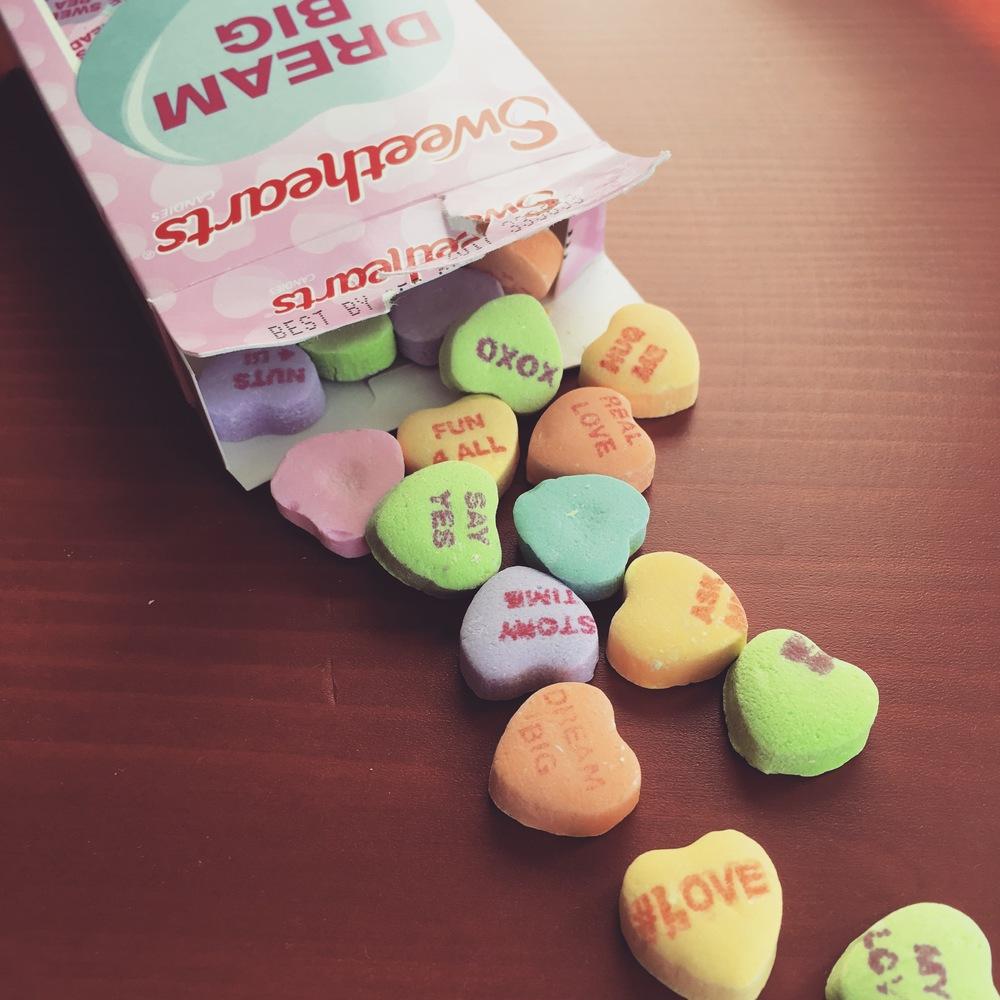 Valentine's Day leftovers-goodbye, February!