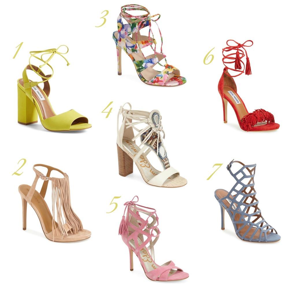 gilt edge | spring shoe wish list