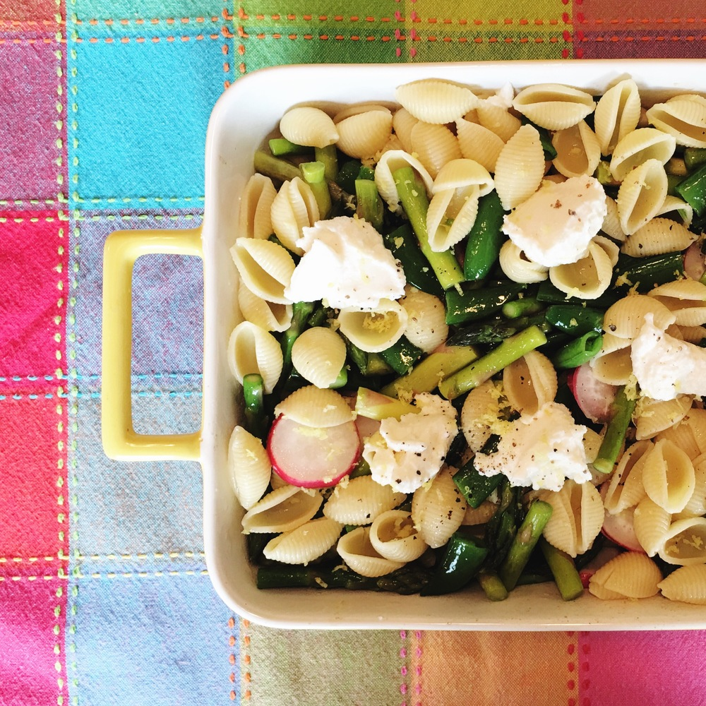 A delicious spring pasta (and thanks to Southern Living for the regram!)