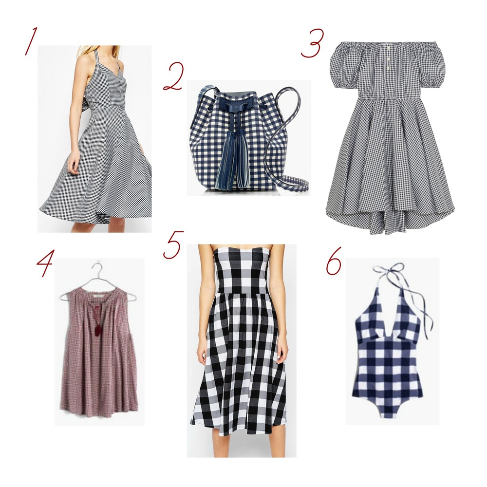 gilt edge | gingham gal
