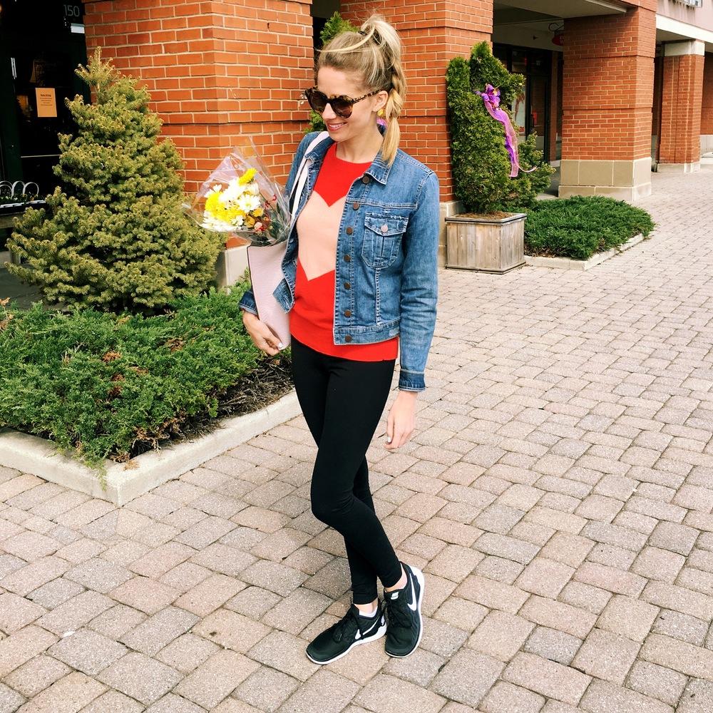 Jacket, Leggings, Bag, Shoes