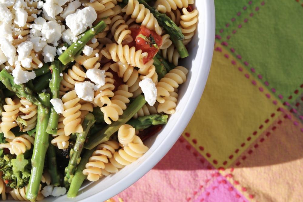 gilt edge | my favorite spring pasta